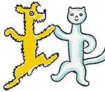 O pejskovi a kočičce