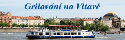Grilování na Vltavě