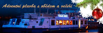 Adventní oběd nebo večeře na lodi