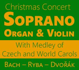Vánoční koncert - Soprano, Organ and Violin