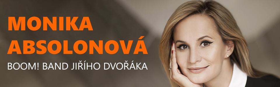 Monika Absolonová & Boom! Band Jiřího Dvořáka