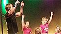 Děti ráje opět rozezpívali Letní scénu Harfa