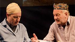 Návštěvní den u Miloslava Šimka 30.12.2017 v Divadle Semafor