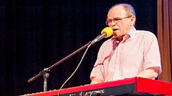 Koncert Jaroslava Uhlíře s kapelou 8.12.2018 v Divadle Hybernia