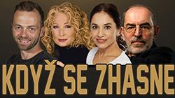 Komedie Když se zhasne 22.2.2020 poprvé v Divadle Gong