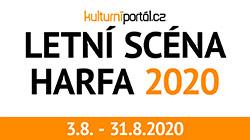 Letní scéna Harfa zahajuje v pondělí 3.8.2020