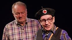 Kabaret Zajíc v pytli 1.12.2021 v Divadle Gong Praha
