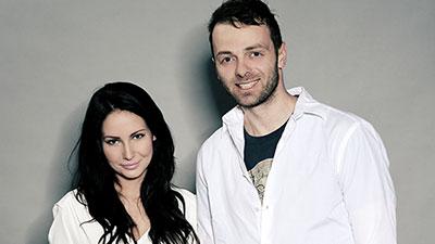 Lukáš Langmajer a Veronika Nová