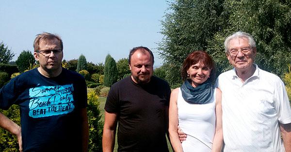 Setkání s profesorem Vadimem Petrovem 13.8.2015