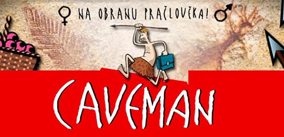 Slavná one man show Caveman poprvé na Letní scéně Harfa