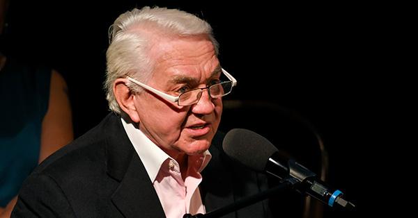 Jiří Krampol v Návštěvním dnu u Miloslava Šimka