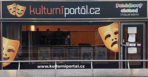Prodejna Kulturního portálu ve Vodičkově ulici uzavřena