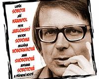Plakát k představení Návštěvní den u Miloslava Šimka