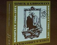 Supraphon mapuje tvorbu Miloslava Šimka na CD. V Semaforu jsme pokřtili druhý komplet Šimek - Sobota - Nárožný (1971-77). Foto: © Vladimír Kovářík