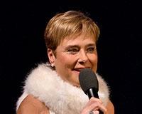 Marie Retková vítá diváky Pohody Vánoc v divadle Semafor. Foto: © Petr Sankot