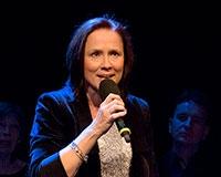 Jana Mařasová zpívá píseň Pojď usínám. Foto: © Petr Sankot