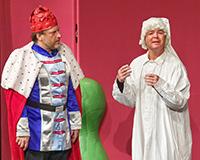 Libor Jeník a Patrik Vojtíšek v představení Princové jsou na draka. Foto: Petr Sankot