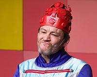 Rostislav Trtík v představení Princové jsou na draka. Foto: Petr Sankot
