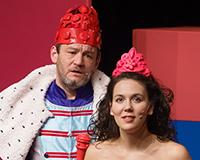 Rostislav Trtík a Eliška Janosová v představení Princové jsou na draka. Foto: Petr Sankot