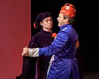 Kryštof Nohýnek a Rostislav Trtík v představení Princové jsou na draka. Foto: Petr Sankot