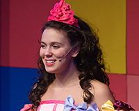 Eliška Jansová v představení Princové jsou na draka. Foto: Petr Sankot