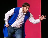 Radek Fejt a Fabián Šetlík v představení Princové jsou na draka. Foto: Petr Sankot
