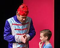 Rostislav Trtík a Fabián Šetlík v představení Princové jsou na draka. Foto: Petr Sankot