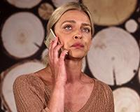 Lucie Zedníčková v komedii A do pyžam! Foto: Petr Sankot
