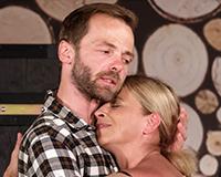 Lukáš Langmajer a Lucie Zedníčková v komedii A do pyžam! Foto: Petr Sankot