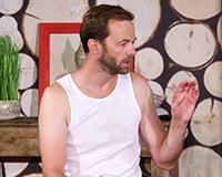 Lukáš Langmajer a Leoš Noha v komedii A do pyžam! Foto: Petr Sankot