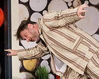 Barbora Mottlová, Lucie Zedníčková a Libor Jeník v komedii A do pyžam! Foto: Petr Sankot