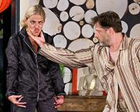 Lucie Zedníčková a Libor Jeník v komedii A do pyžam! Foto: Petr Sankot