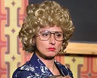 Lenka Zbranková v představení Normální debil. Foto: Petr Sankot